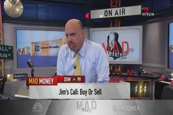 Cramer's lightning round: Don't sell the stock of Ametek. It's a winner