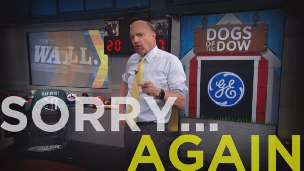 Cramer Remix: I've issued more mea culpas on GE than any other stock, but I'm not giving up just yet