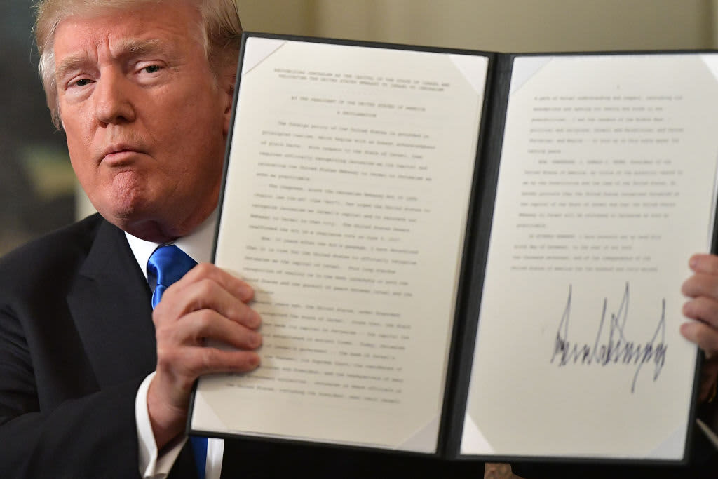 Trump Signs Spending Deal To End Government Shutdown
