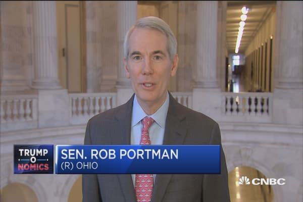 Rep. Rob Portman: Businesses can now be competititve after GOP tax reform