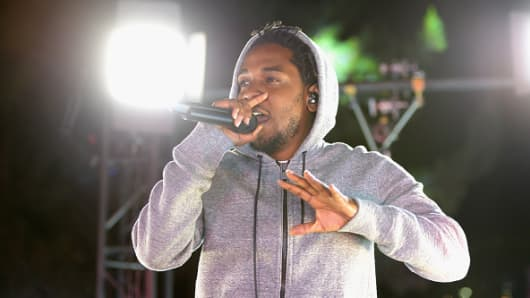 "Kendrick Lamar's ""Damn"" was the second most-popular album in 2017."