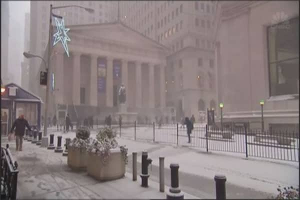 A massive snowstorm is sweeping the U.S.