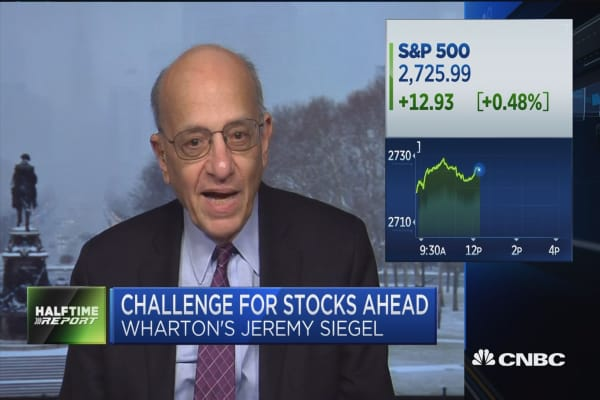 Wharton School's Jeremy Siegel: Here are the challenges that lie ahead for the market
