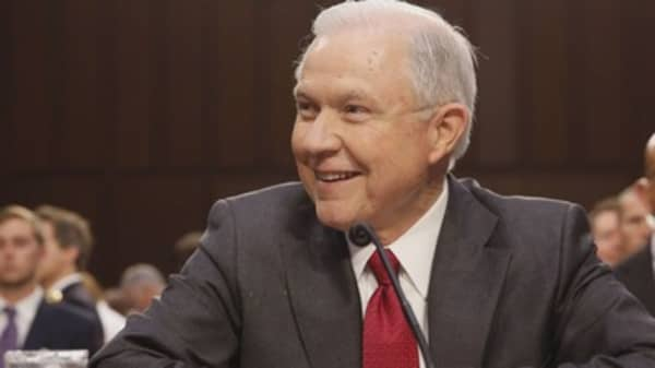 Attorney General Jeff Sessions ends policy that let legal pot flourish