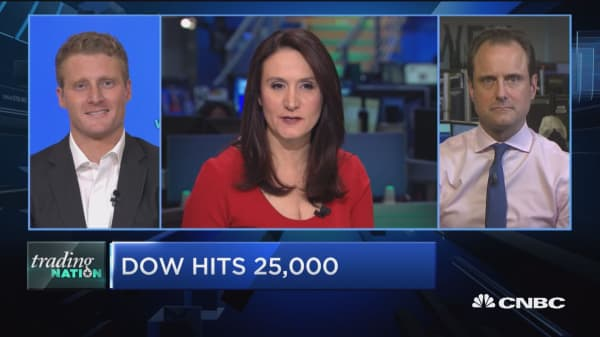 Trading Nation: Dow hits 25,000