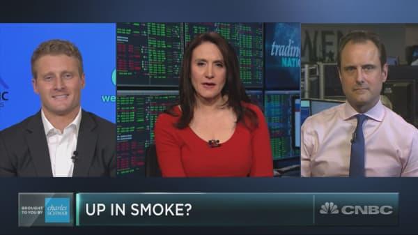Hot pot stocks take a hit