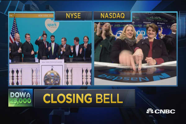 Closing Bell Ringer, January 4, 2018