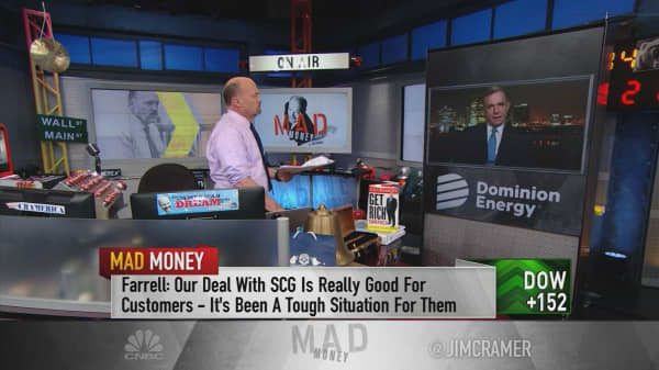 Dominion CEO bullish on latest deal despite slumping stock: 'We're investing for the long term in South Carolina'