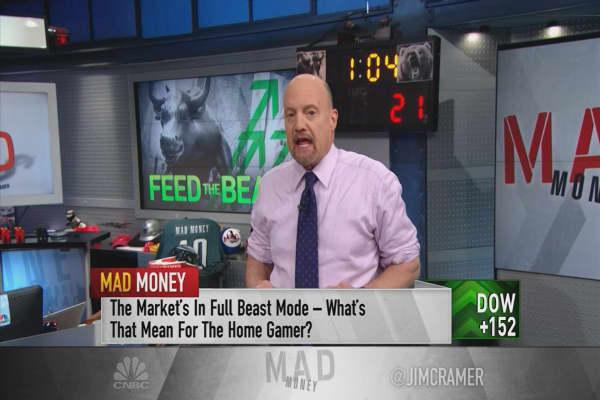 Stocks feeding the market in 'beast mode'