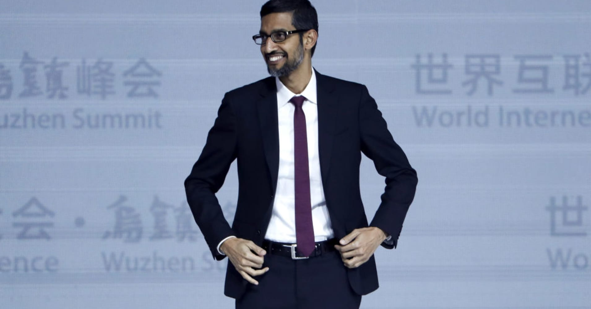 Pichai Makes Case for Potential Move into China by Saying Google Already Censors Info Elsewhere