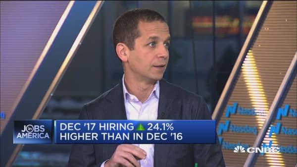 LinkedIn Workforce Report: December 2017 hiring up 24.1% compared to December 2016