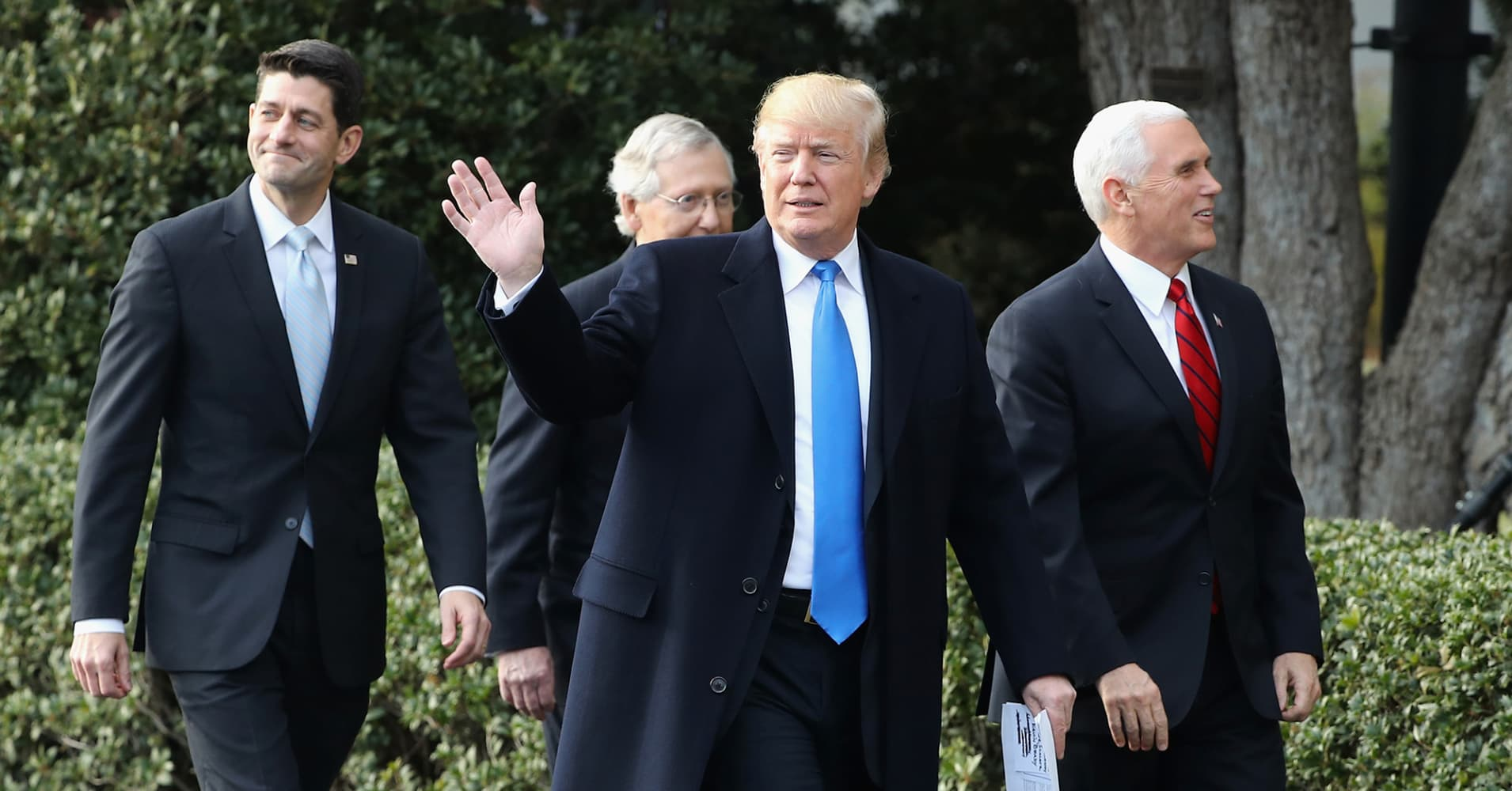 Trump says he'd be open to talking with North Korean leader