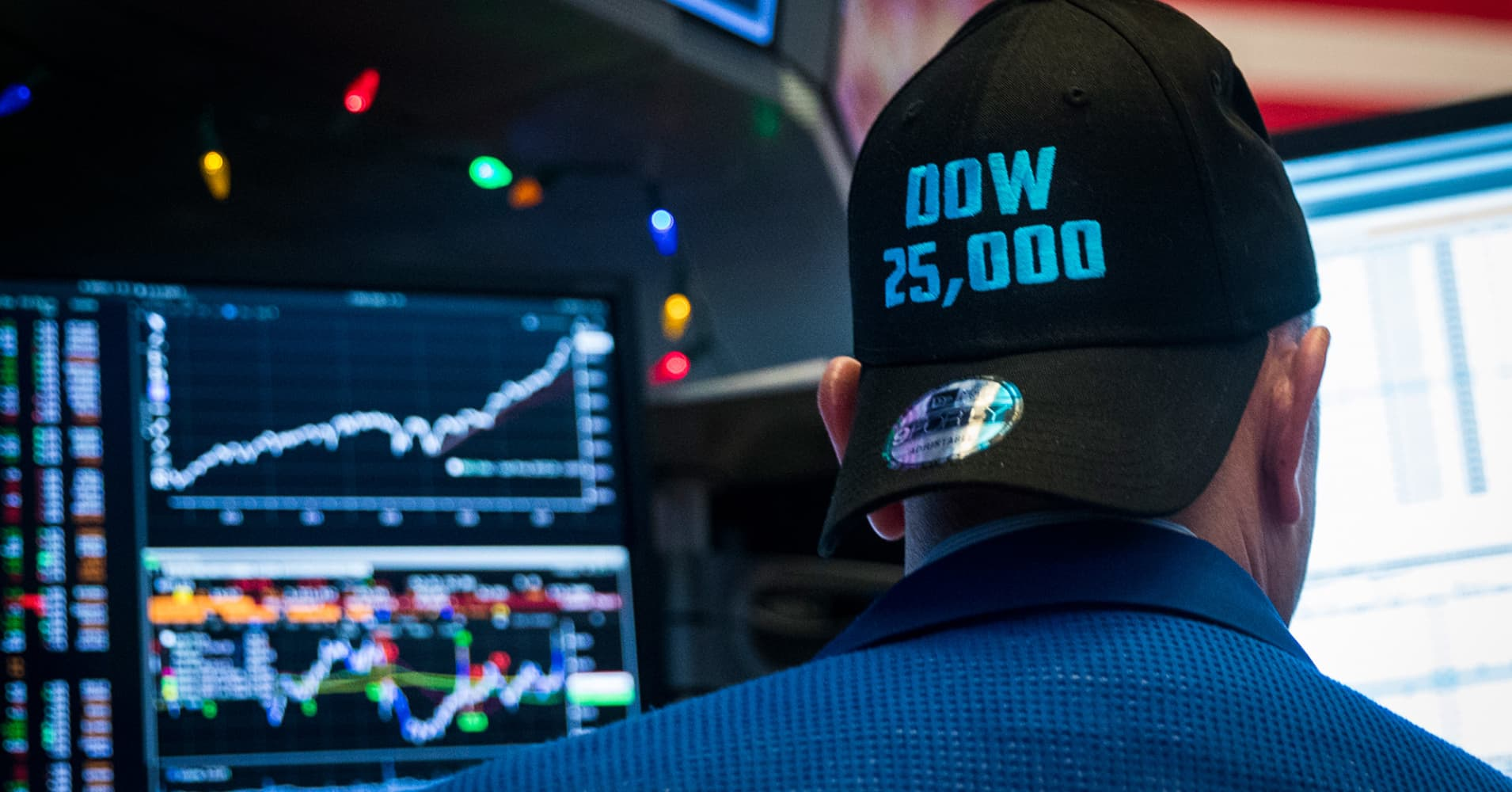 Stock market optimism from pros reaches highest level in nearly 32 years