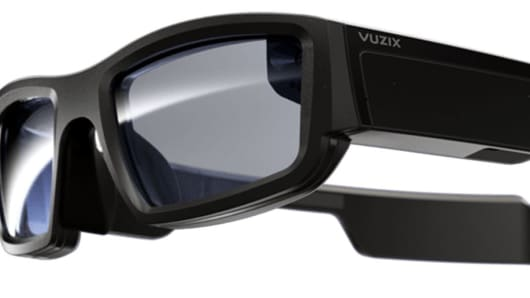 The Vuzix Blade smart glasses will be the first powered by Amazon's Alexa, as unveiled at CES 2018 in Las Vegas.