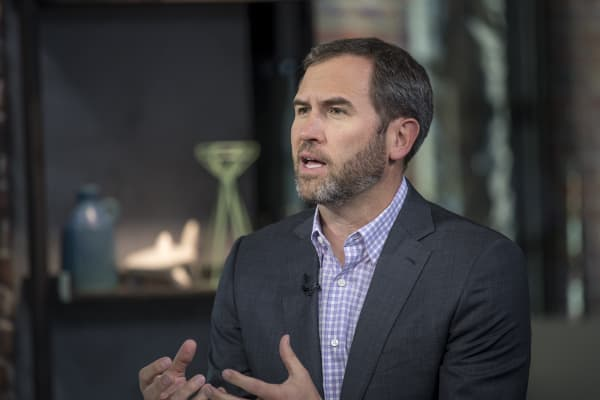 Brad Garlinghouse, chief executive officer of Ripple Labs Inc.