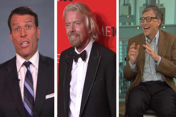 Three things these business leaders do every day to be successful