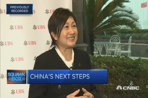 UBS has seen a 'more open field' for asset managers in China