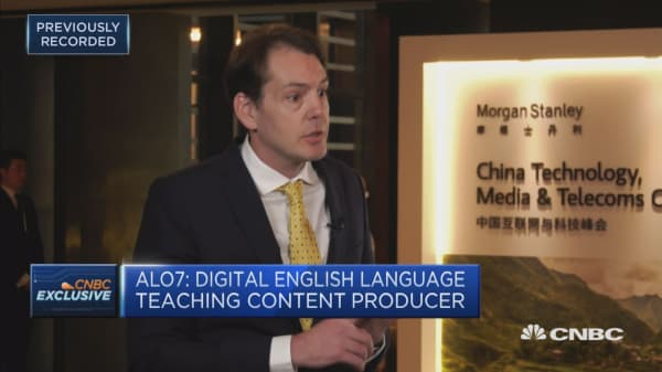Learning English online in China is big business