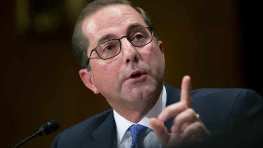 Alex Azar Questioned During Confirmation Hearing
