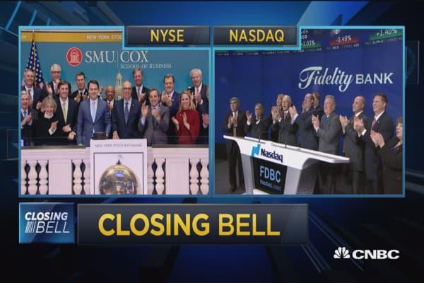 Closing Bell Ringer, January 8, 2018