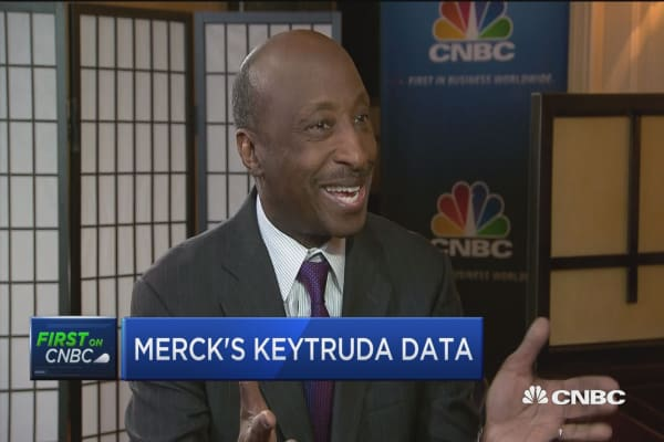 Merck CEO: We continue to work with Trump Administration to try and do what's good for patients