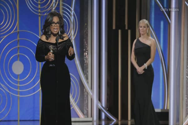 Oprah's Globes speech sparks 2020 presidential speculation