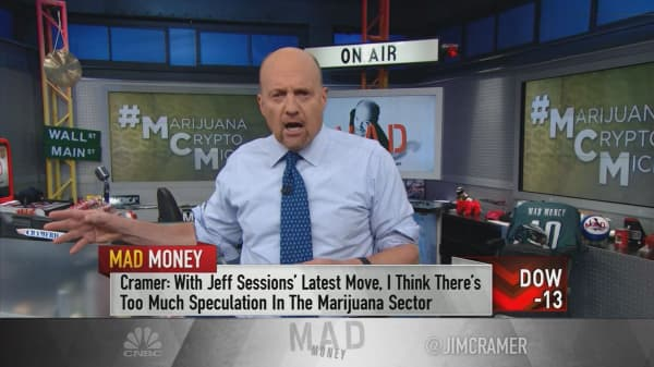 Cramer: Marijuana, bitcoin and Micron are all speculative investments