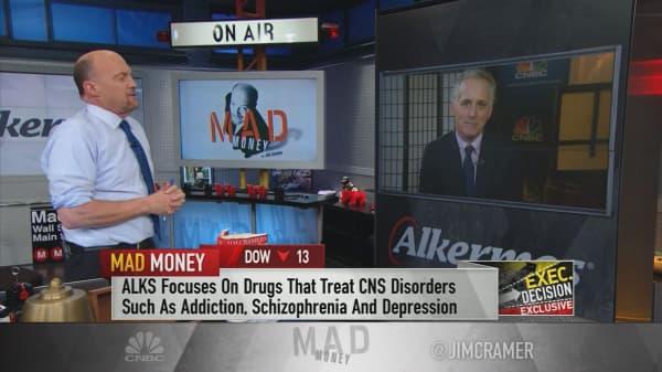 'Best days are still ahead' for top opioid addiction treatment Vivitrol, CEO says