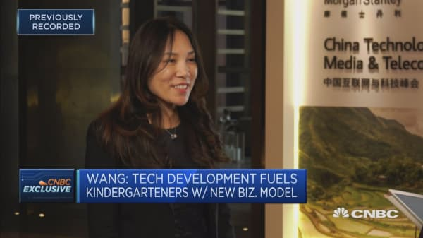 Bringing technology into schools in China