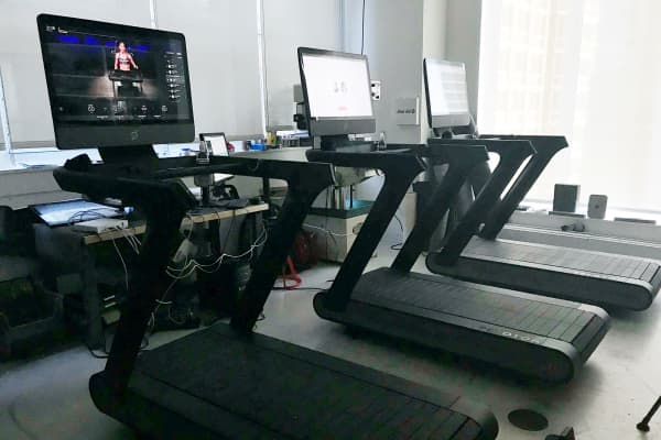 Peloton introduces a treadmill to their product line.