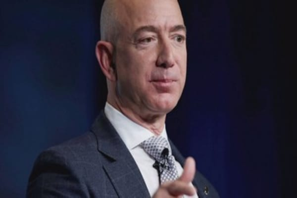 Jeff Bezos is now the richest of all time - sort of