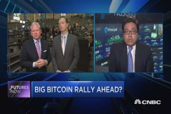 Bitcoin will outperform stocks again in 2018: Tom Lee