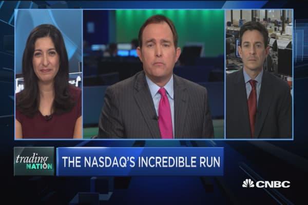 Trading Nation: The Nasdaq's incredible run