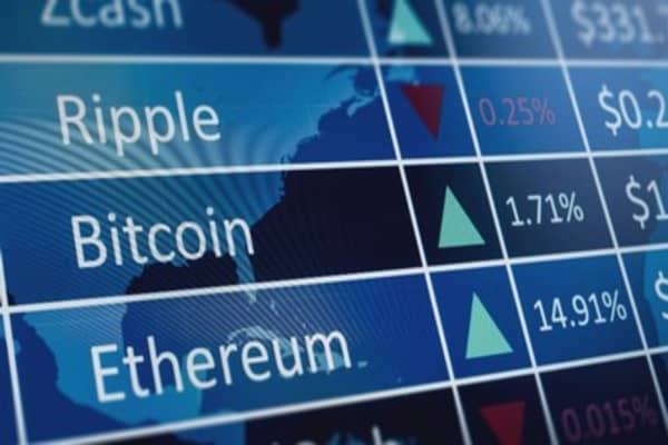 Cryptocurrency ripple falls 5 percent
