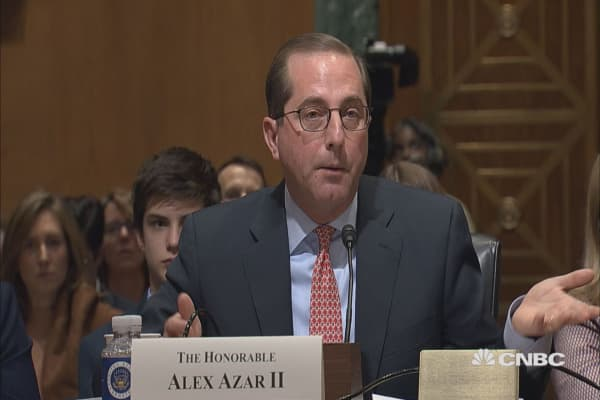 Trumps' HHS Pick Opposes Negotiating Drug Prices