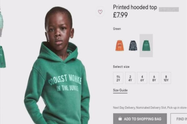 LeBron James, Diddy and other celebrities rebuke H&M for 'monkey' hoodie