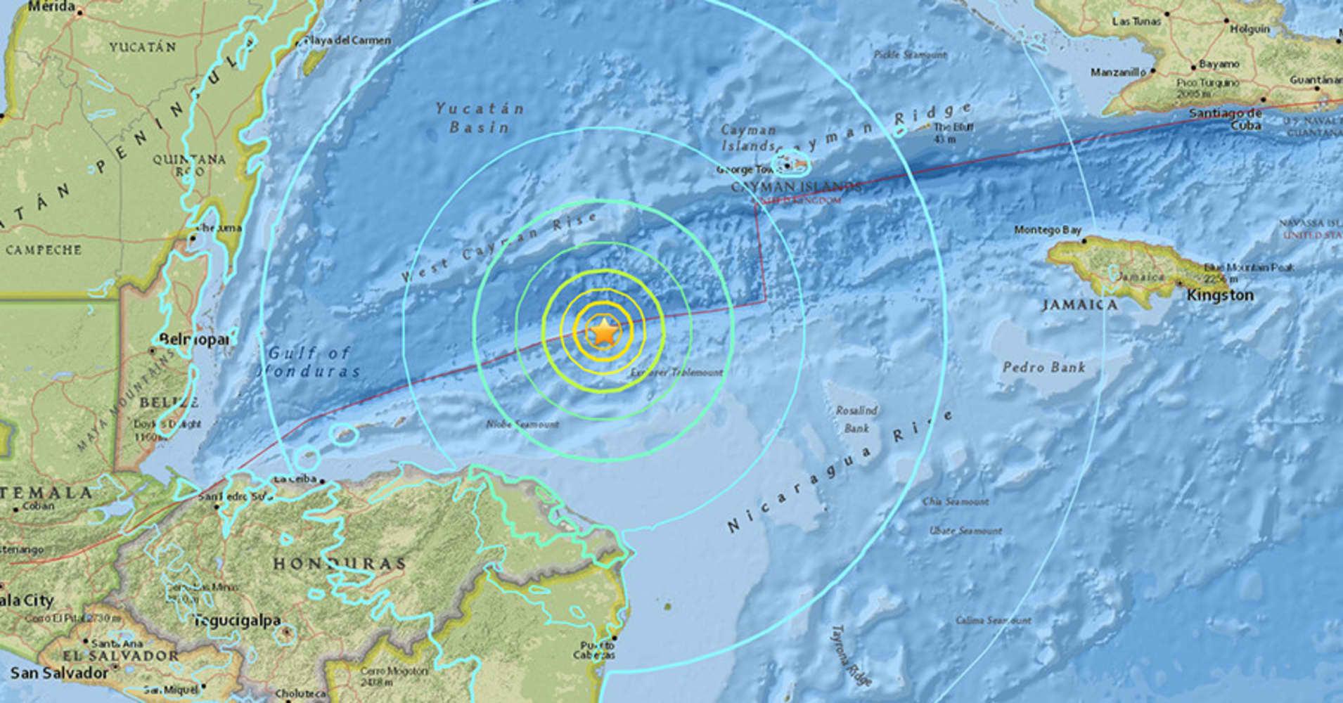 Magnitude 7.8 earthquake strikes Caribbean, tsunami waves possible: USGS