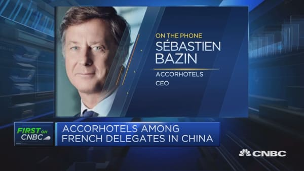 It's the time to build bridges with China: AccorHotels CEO