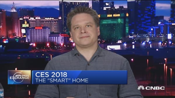 Brilliant Home Tech CEO at CES 2018:  Who's winning the fight for the