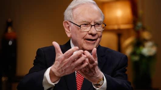 Warren Buffett, Presidente e CEO di Berkshire Hathaway.