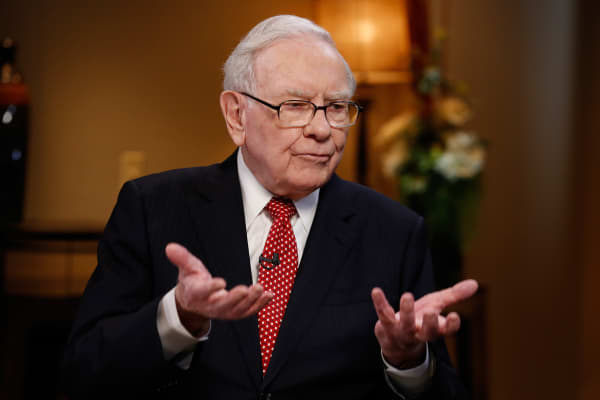 Warren buffett on cryptocurrency cnbc