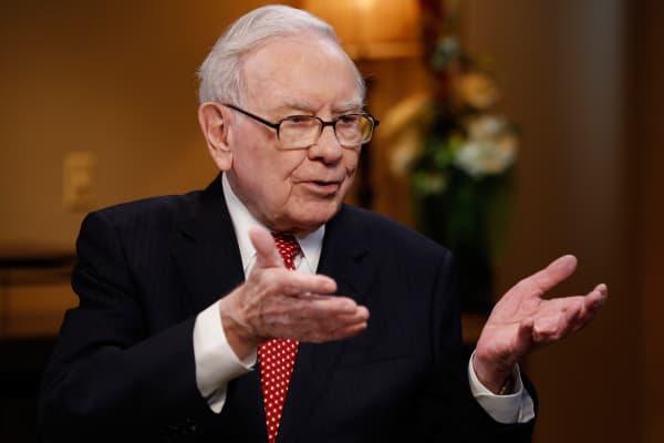 Warren Buffett, Chairman and CEO of Berkshire Hathaway.