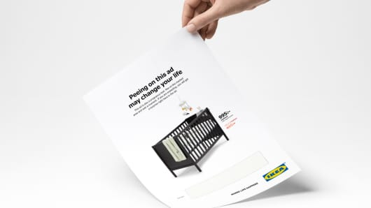 ikea pregnancy test ad
