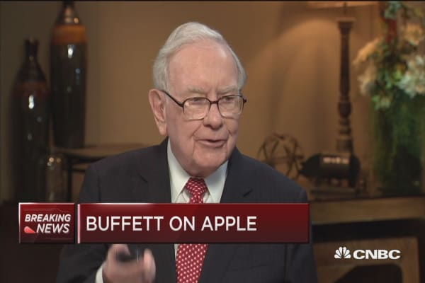 Warren Buffett: We'd buy GE at the 'right number'