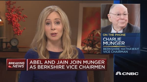 Charlie Munger: I think promoting Greg Abel and Ajit Jain 'is a very good idea'