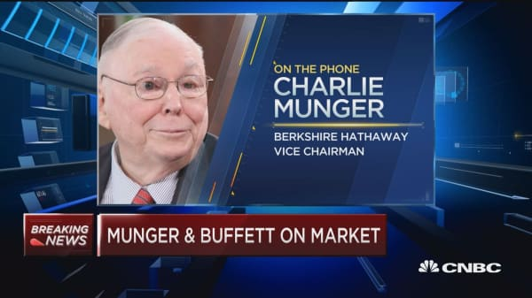Warren Buffett: There's no question the market has momentum and that can create bubbles