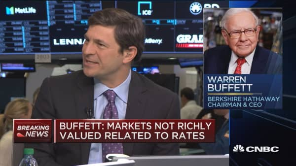 Cramer: Buffett is not afraid to say what he thinks