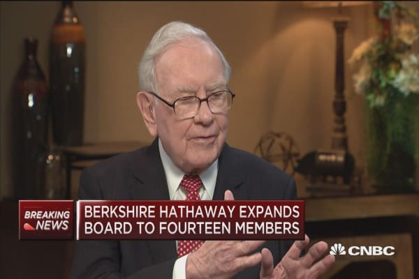 Warren Buffett: When I buy an iPhone, it's all over from there