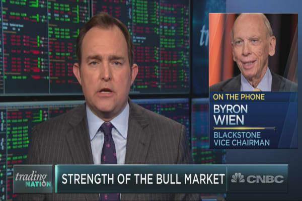 Blackstone's Byron Wien on what could spark a correction