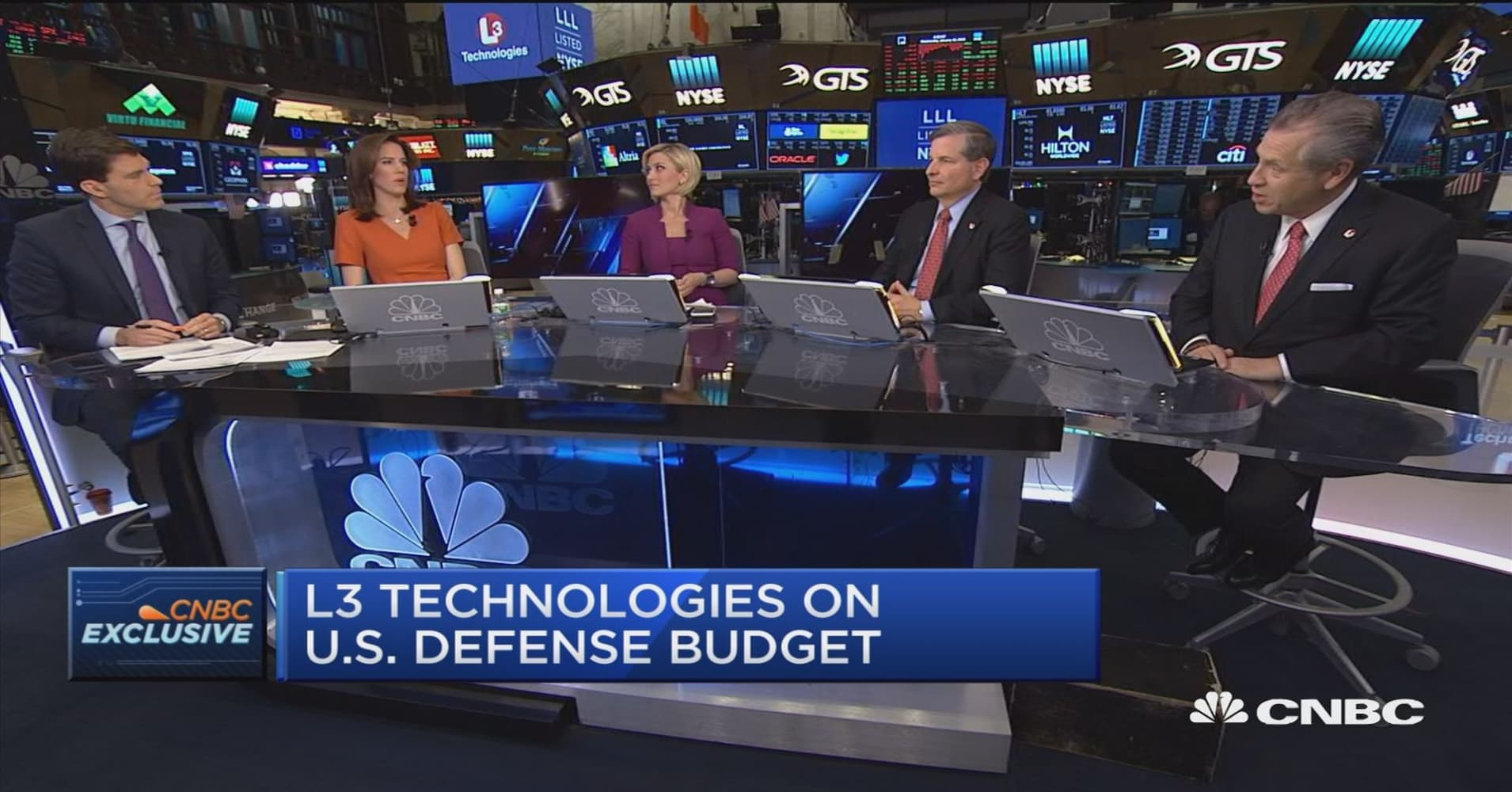 L3 Technologies: We plan to aggressively grow company